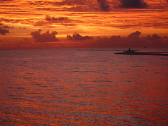 Copper-like Sky and Sea (presbi) Tags: sunset sea sky clouds maldives soe tqm removed 100commentgroup saariysqualitypictures newgoldenseal mygearandme mygearandmepremium