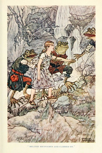006- Charles Folkard- British fairy and folk tales -1920-Melilot