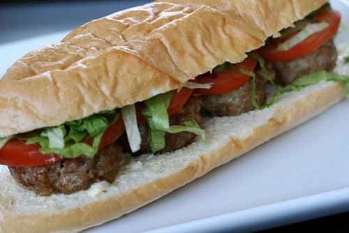 Spicy Pork Po' Boys