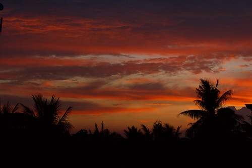 Sunset in Siem Reap