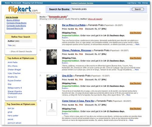 Flipkart: libros de fernando prats