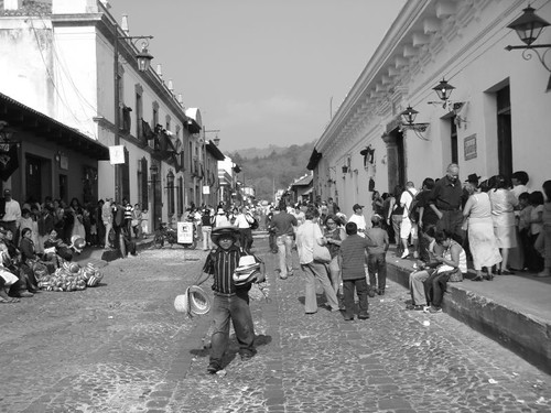 Antigua city scene.