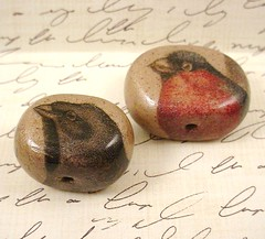 Bird Bead Series Beads 1 and 2 (b)