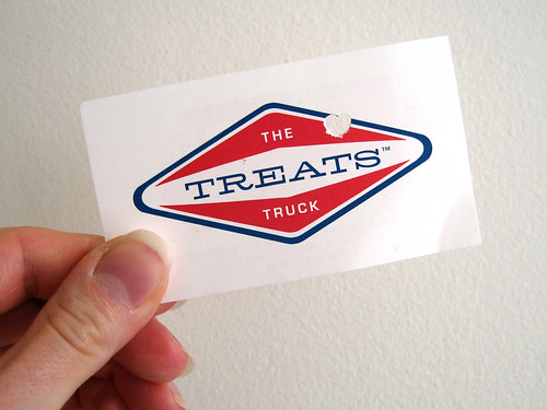 Treats Truck Business Card