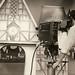 Camera operator Ernie Oxwell