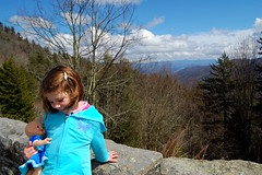 Hannah at Newfound Gap
