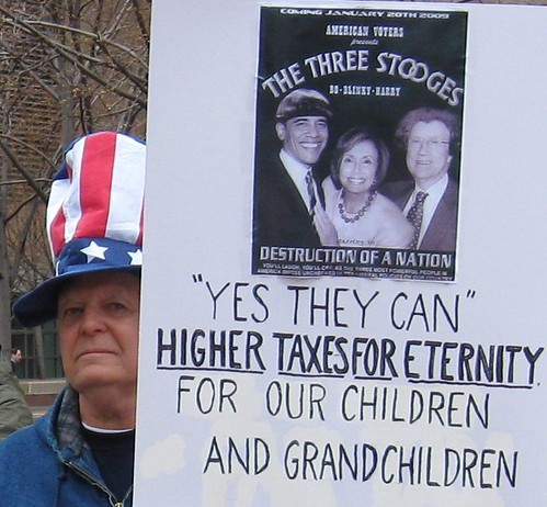 Dayton Tea Party Protester