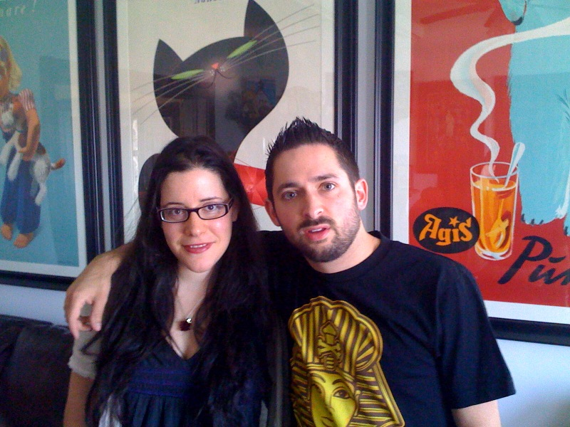 Yes, I met Johnny Cupcakes!