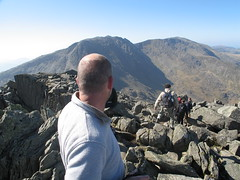 Hiking in the Glyders (dumbledad) Tags: wales martin snowdonia tryfan