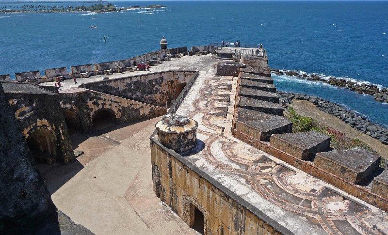 Old San Juan Fort, Puerto Rico