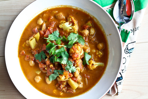 Curried Cauliflower and Chickpea Stew Bitchin Camero