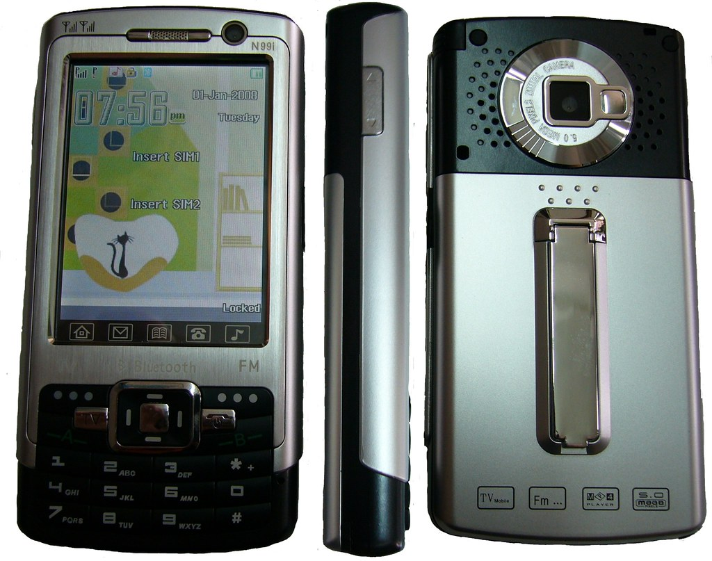 N99i Tri-Band Dual SIM TV Cell Phone