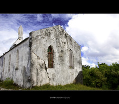 Lifou - Old Church (Cass n Dan) Tags: old travel cruise sky holiday green beach church window grass clouds island nikon paradise locals tour pacific southpacific tropical newcaledonia lifou oldchurch d90 nikond90 loyaltyisland