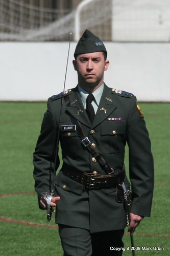 Army Cadet with Saber