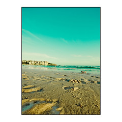 Sydney - Bondi beach (Manlio Castagna) Tags: sea beach canon vintage wide sydney footprints hdr manlio manliocastagna manliok