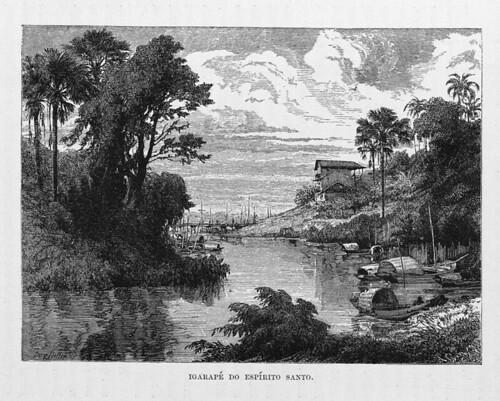 001b-Los Ríos Amazonas y Madeira 1875-Igarapé do spiritu Santo