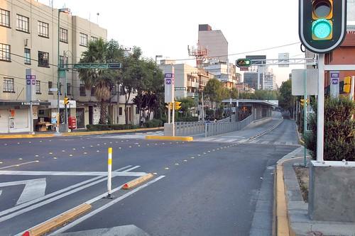 Calles vacías de México