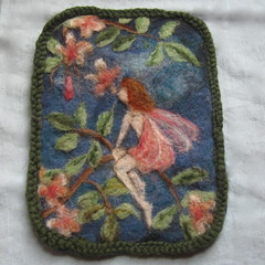 Flower fairy tapestry (haddy2dogs) Tags: waldorf haddy2dogs