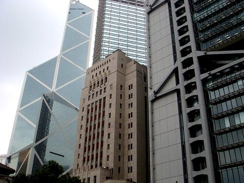 jimwang0813 拍攝的 中銀大廈。