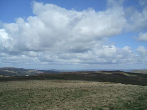 Axe Edge Moor and Three Shires