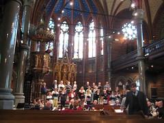 Une répétition de chorale