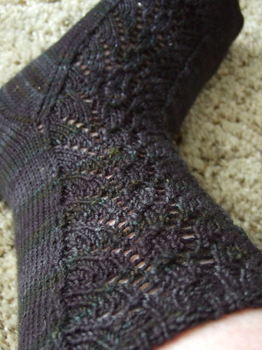 Blackrose Socks - leg