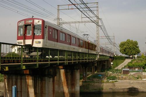 Kintetsu1430series in Masuga〜Matsuzuka,Yamato-Takada,Nara,Japan 2009/5/20