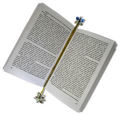 Marcador de Livro (Minhas Crias) Tags: artesanato fuxico tecido trabalhosmanuais retalhos