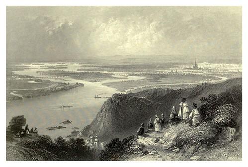 019- Vista de Viena desde Leopoldsberg 1844