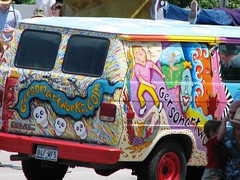 Art Car Parade (cortneymartin82) Tags: houston artcarparade orangeshow