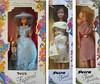 Various 1980s Petra dolls (Polly Plasty I.) Tags: 80s petrajuwel petrafestival petratwen