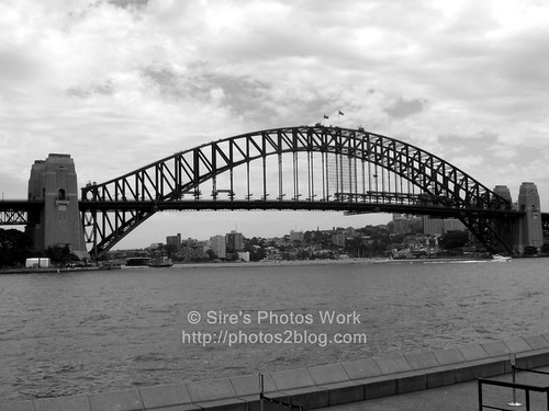 Harbor Bridge BW