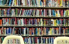 eyesore (owaief89) Tags: college chair chairs library books study motorola lonely metropolitan jaya subang eyesore zn5
