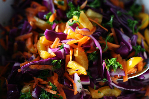 Radiantly Raw: My favourite Rainbow Salad recipe