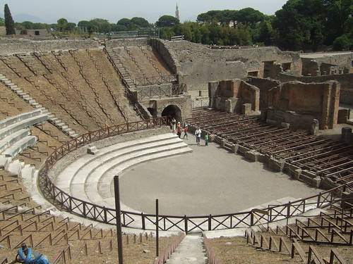 Grand Theatre at Pompeii