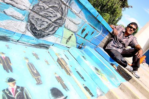 Oberlin Chalk Walk 2009