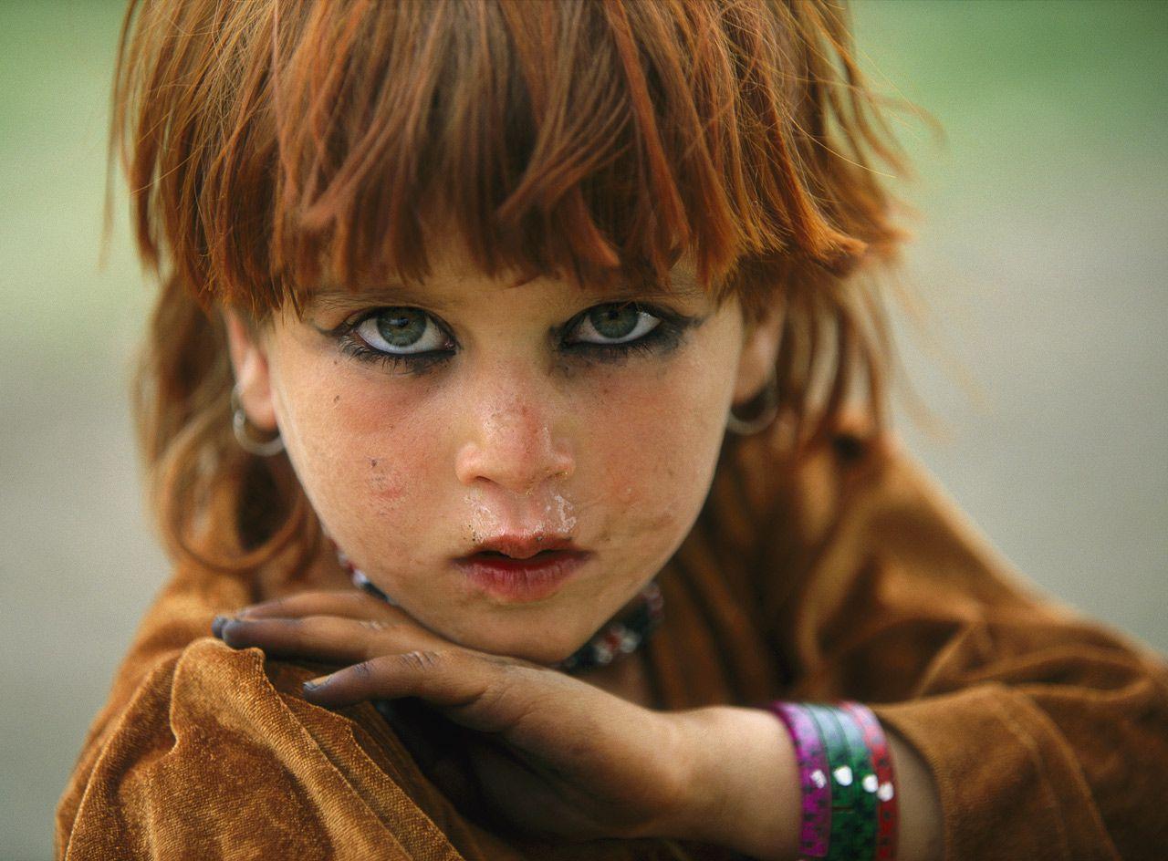 Los ojos de las niñas pastunes