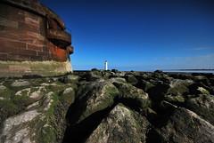 Rock Light (18mm & Other Stuff) Tags: sky lighthouse nikon rocks newbrighton merseyside sigma1020mm rivermersey nikond60 perchrock