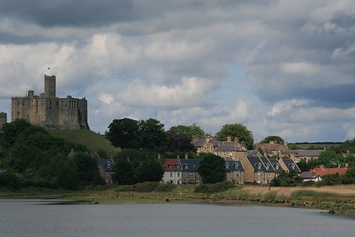 Warkworth and Warkworth Castle, Northumberland