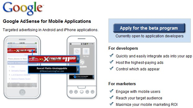 adsense mobile google iphone android