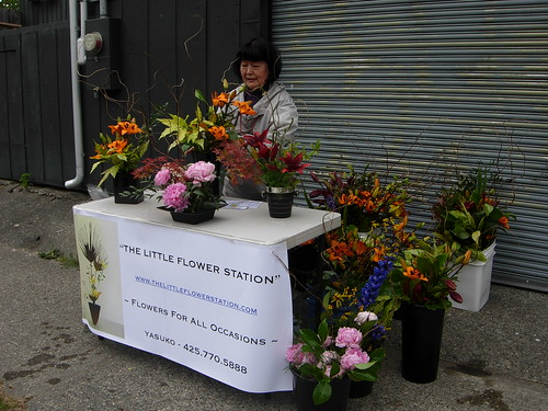 Flower Lady at Marination