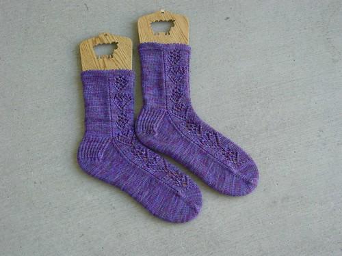Hearts & Flowers Socks