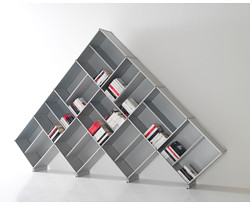 Pyramid Medium – Modular Bookcase by Fitting
