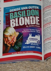 Basildon Blonde at Edinburgh Festival Fringe 2009 promo