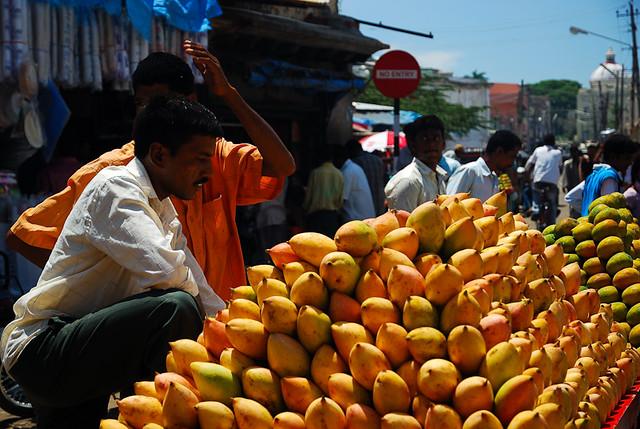Mango stand at Devaraja Market