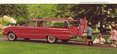 1961 Ford Falcon 4dr Wagon (coconv) Tags: door old 2 two food classic cars ford hardtop car sedan vintage wagon four photo automobile post deluxe postcard 4 ad picture automotive literature advertisement card postcards falcon cylinder collectible six brochure economy advertisment 1961 compact 61 144 todor automobilia fordor 4dr