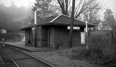 E & N Station at Shawnigan (R R Horne) Tags: en bc vancouverisland cp cpr railroads shawnigan cprstation