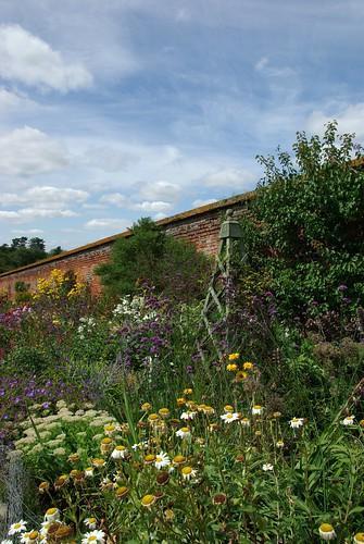 Exterior of the Walled Garden - Mixed Border