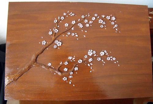 Irka Caja Flores de Cerezo