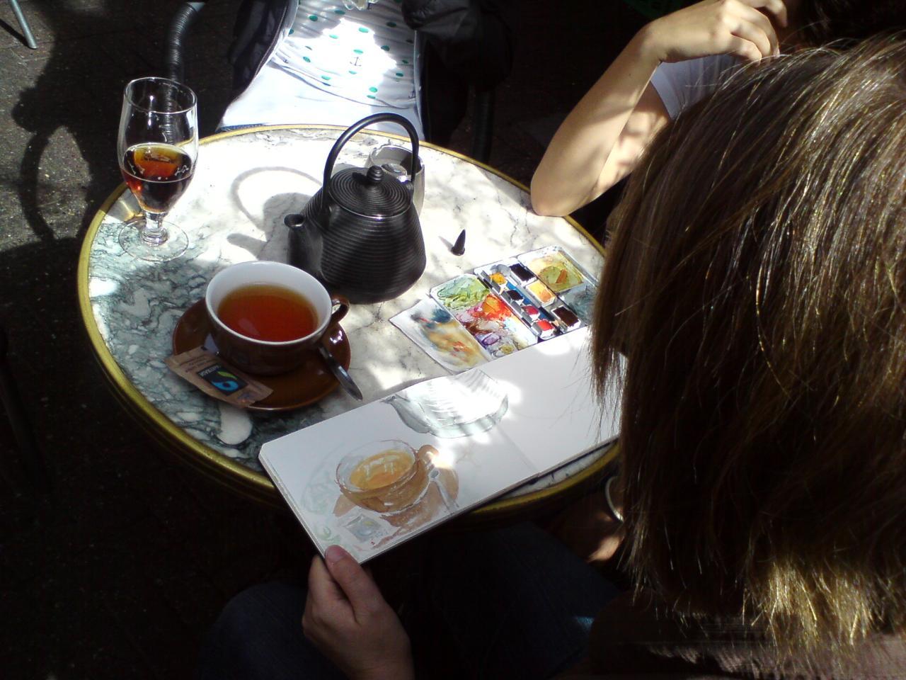 Te på Englen